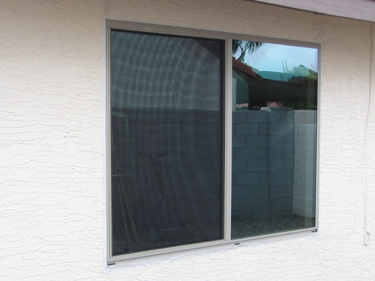 After new aluminum dual pane windows chandler az for New replacement windows