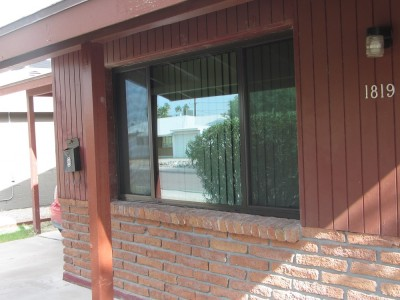 After- New Aluminum Window
