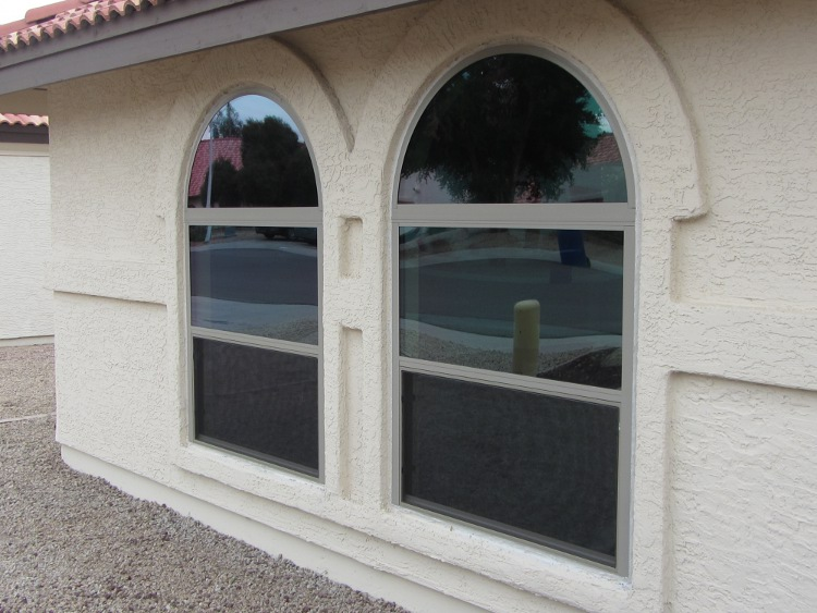 After- New Aluminum Windows Chandler AZ