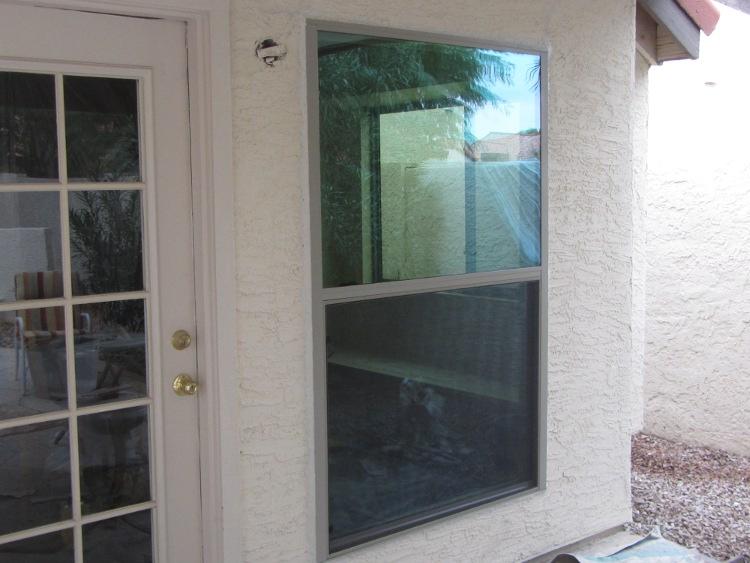 After- New Custom Aluminum Windows Chandler AZ