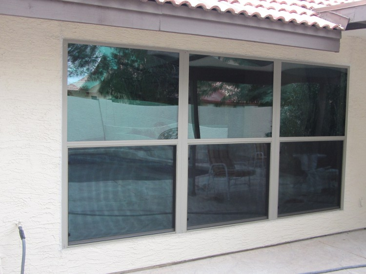 After- New Dual Pane Aluminum Windows Chandler Arizona