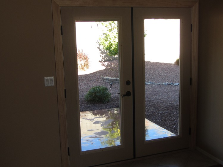 After - New French Doors