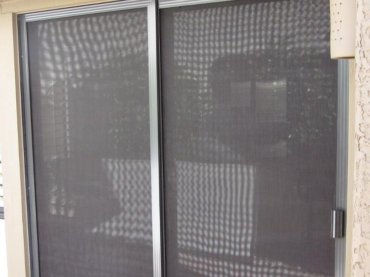 After Sunscreens- New Patio Screen Door - Mesa AZ