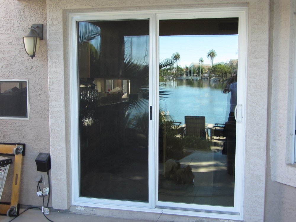 Simonton patio doors gilbert replacement windows for Patio window replacement