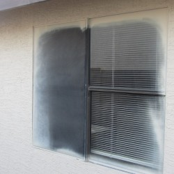 Before- Aluminum Single Pane
