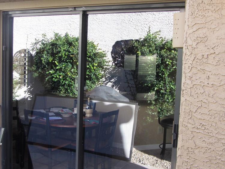 Before Sunscreens- Patio Screen Door Mesa AZ