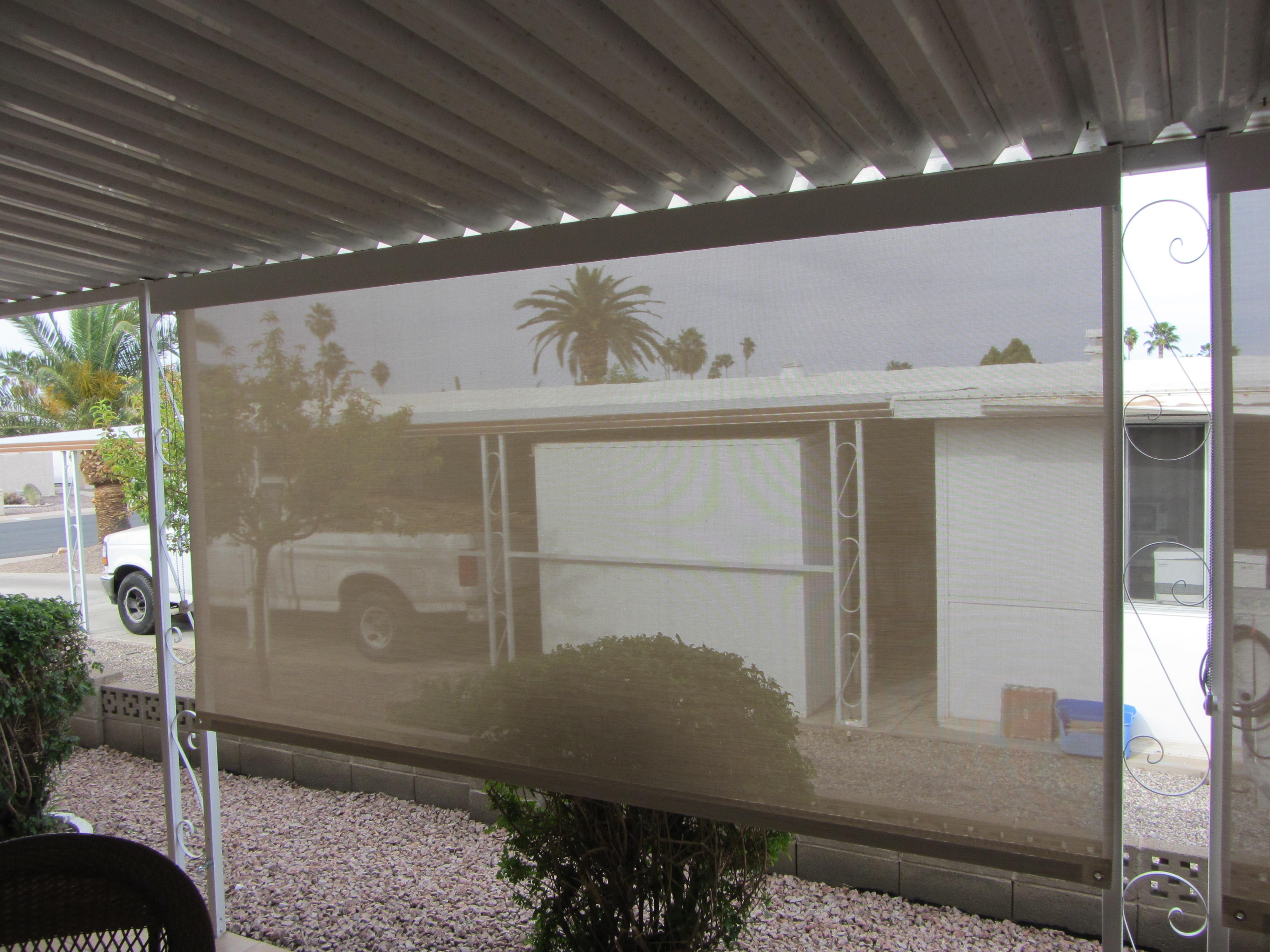 Roll-Down Sun Shade Arizona