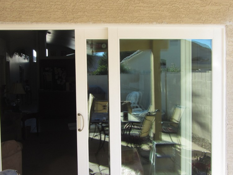French Rail Door Installation