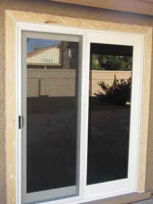 Vinyl French Sliding Door