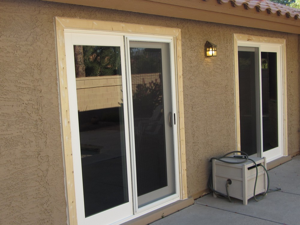 New french sliding doors tempe az replacement windows for Sliding door in french