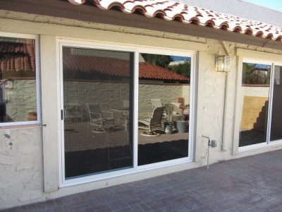 New Vinyl Patio Door