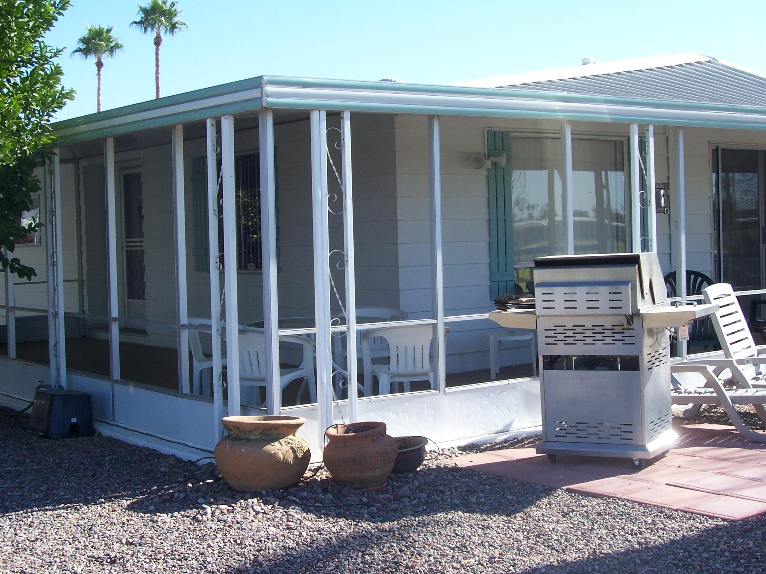 Arizona Screen Room Installation - Before