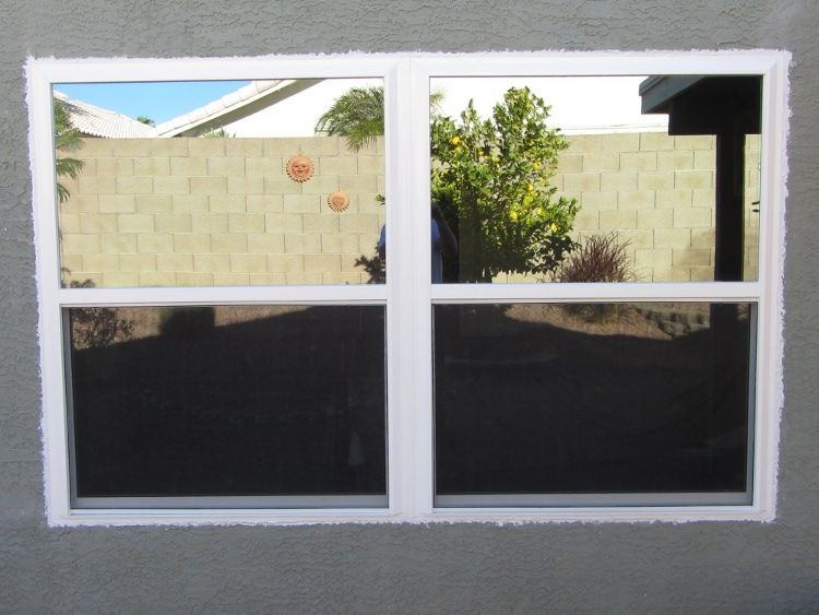 Single Hung Window Glass Repair : Replacement windows phoenix